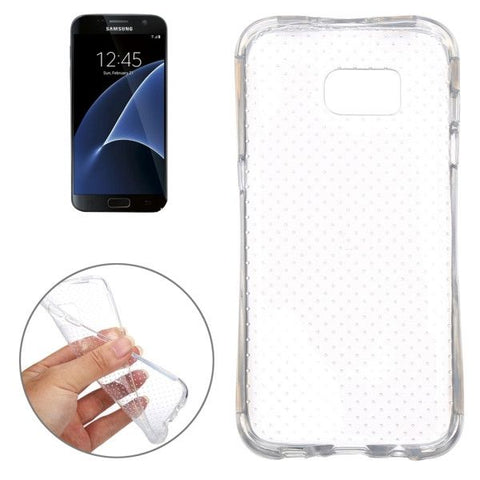 For Samsung Galaxy S7 / G930 Shock-resistant TPU Protective Case (Transparent)