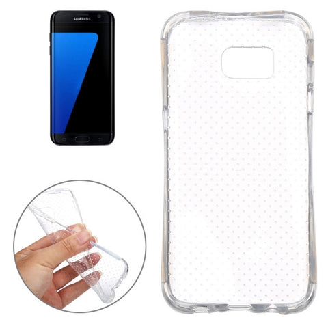 For Samsung Galaxy S7 Edge / G935 Shock-resistant TPU Protective Case (Transparent)