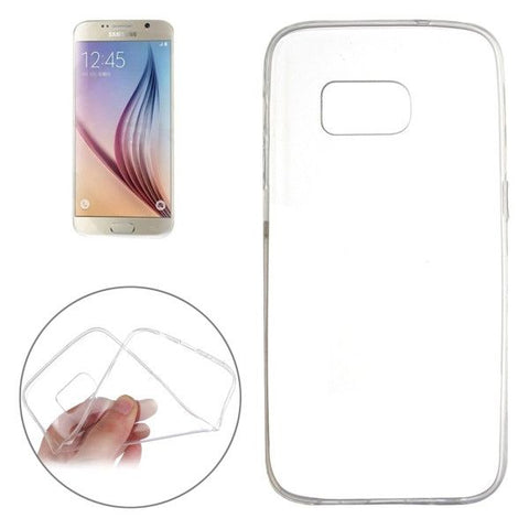 For Samsung Galaxy S7 Edge / G935 Ultrathin Transparent Soft TPU Protective Cover Case