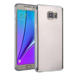 For Samsung Galaxy S7 / G930 Plating Soft TPU Protective Cover Case (Silver)