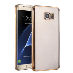 For Samsung Galaxy S7 Edge/G935 Plating Soft TPU Protective Cover Case (Gold)