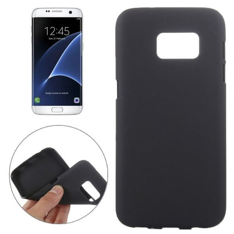 For Samsung Galaxy S7 Edge / G935 Frosted TPU Protective Case (Black)