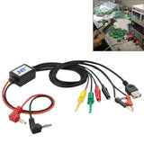 Mobile Phone Repair Power Test Interface Cable with USB Output Interface Cable - Zasttra.com