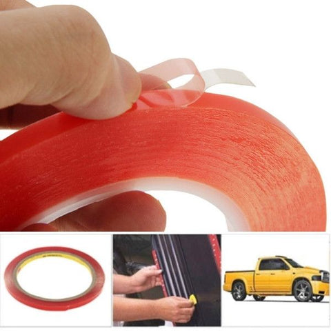 6mm 3M Double Sided Adhesive Sticker Tape for iPhone / Samsung / HTC Mobile Phone Touch Screen Repair, Length: 25m