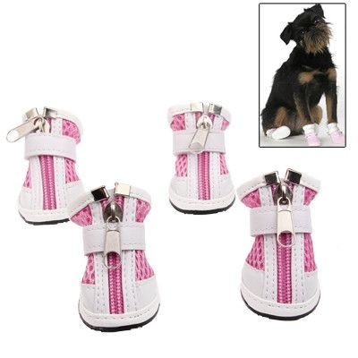 New Fashion Anti-Skidding Dog Shoes, Pink