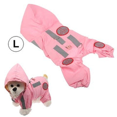 Stylish Hoodie Meshy Winter Warm Cloak Leisure Clothes Apparel for Puppy Dog Pet (Size: L)