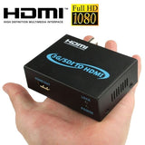 Full HD Output 1080P SDI To HDMI Converter 3G-SDI to HDMI for Driving Monitor, Model: AY-3501(Black) - Zasttra.com