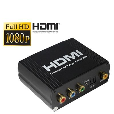 YPbPr + SPDIF to HDMI Multi-media Switcher