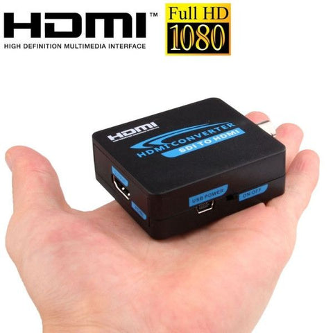 Full HD Output 1080P SDI To HDMI Converter 3G-SDI to HDMI for Driving Monitor, Model: AY37(Black)
