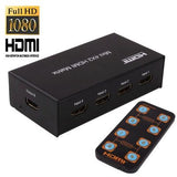 4x2 1080P HDMI Matrix with Remote Controller, 1.3 Version, Support HDTV (4 Ports HDMI Input, 2 Ports HDMI Output) - Zasttra.com