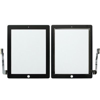 Replacement Touch Panel for New iPad (iPad 3) / iPad 4 , Black(Black)