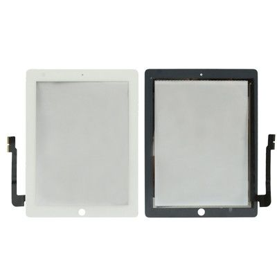 Replacement Touch Panel for New iPad (iPad 3) / iPad 4 , White(White)