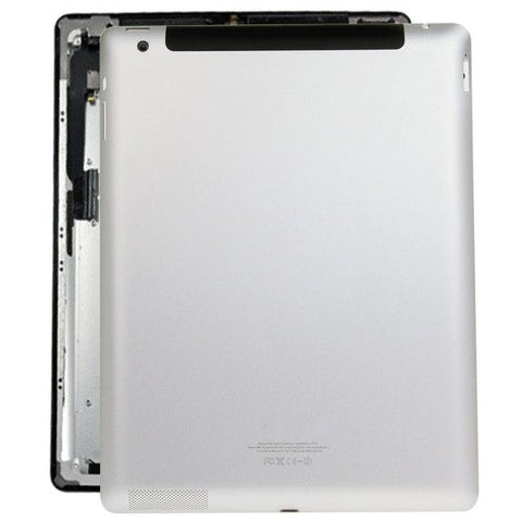 iPartsBuy Back Housing Cover Case Replacement for iPad 4(4G Version)