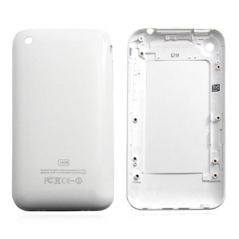 White Back cover for iPhone 3G 16GB(White)