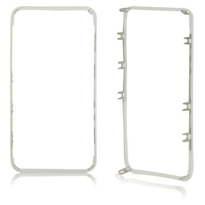 Plastic Touch Frame holder for iPhone 4S(White)