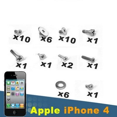 Screws Full Screw Set for Repair iPhone 4/4S