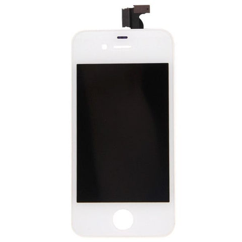 3 in 1 (High Quality LCD, Touch Pad, LCD Frame) Screen LCD & Digitizer Assembly for iPhone 4(White)