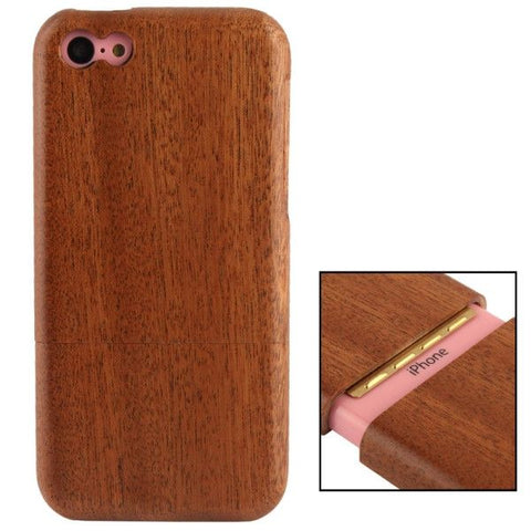 Detachable Myrtus Wood Material Case for iPhone 5C