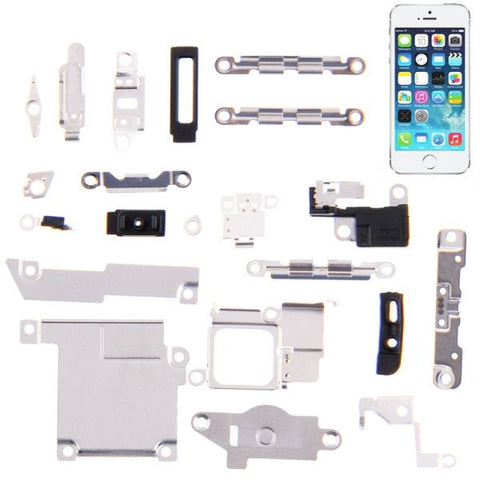 High Quality Spare Part Set for iPhone 5S , Pack of 21