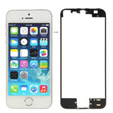 LCD & Touch Screen Frame for iPhone 5S(Black) - Zasttra.com
