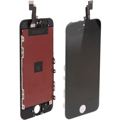 3 in 1 (New High Quality LCD, Touch Pad, LCD Frame) Digitizer Assembly for iPhone 5S(Black)
