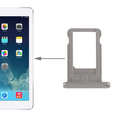 High Quality SIM Card Tray Holder for iPad Air(Grey)