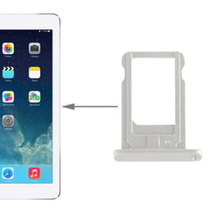 High Quality SIM Card Tray Holder for iPad Air(White)