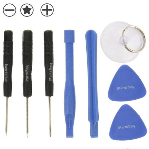 8 in 1 (3 x Screwdriver + 2 x Teardown Rods + 1 x Chuck + 2 x Triangle on Thick Slices) Professional Disassembly Repairing Tool for iPhone 6 & 6S / 5 & 5S & 5C / iPhone 4 & 4S