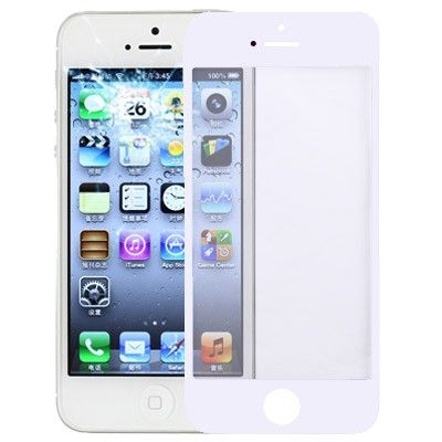 Front Screen Outer Glass Lens for iPhone 5(White)