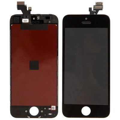 3 in 1 (New High Quality LCD, Touch Pad, LCD Frame) Digitizer Assembly for iPhone 5(Black)