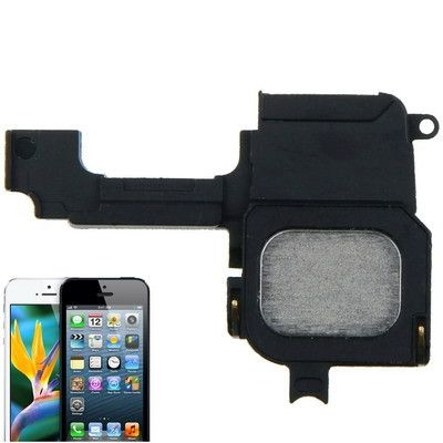 High Quality Speaker Buzzer Repair Parts Ring for iPhone 5(Black)