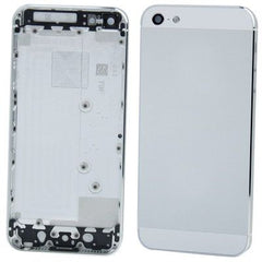 High Quality Version Replacement Back Cover for iPhone 5 (Silver)