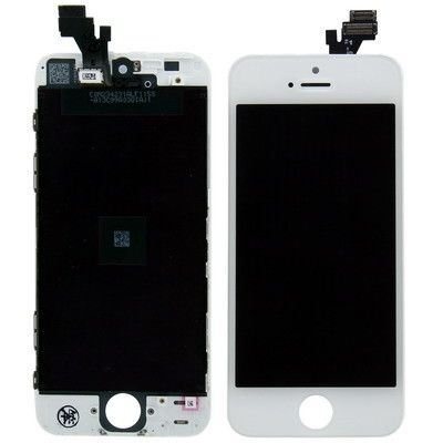 3 in 1 (High Quality LCD, Touch Pad, LCD Frame) & Digitizer Assembly for iPhone 5(White)
