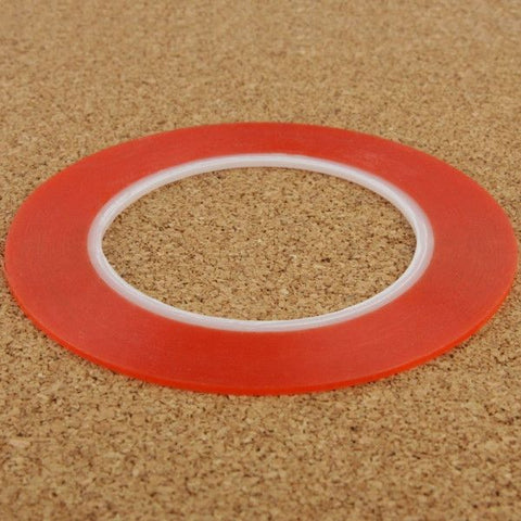 5mm 3M Double Sided Adhesive Sticker Tape for iPhone / Samsung / HTC Mobile Phone Touch Screen Repair, Length: 25m(Red)