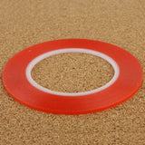 2mm 3M Double Sided Adhesive Sticker Tape for iPhone / Samsung / HTC Mobile Phone Touch Screen Repair,  Length: 25m (Red) - Zasttra.com