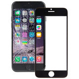 Online Buy iPartsBuy Front Screen Outer Glass Lens for iPhone 6 Plus(Black) | South Africa | Zasttra.com
