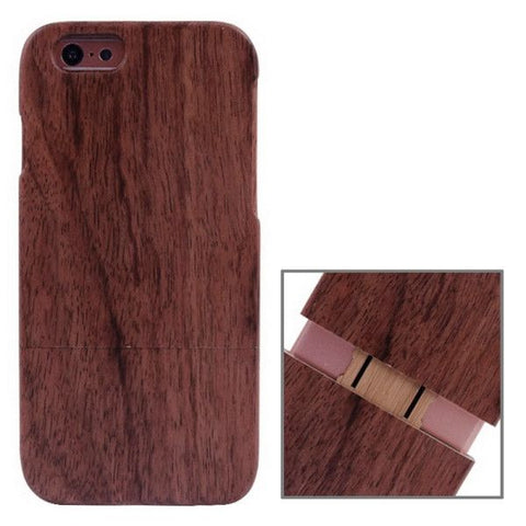 Cherry Wood Material Case for iPhone 6 Plus & 6S Plus(Red)