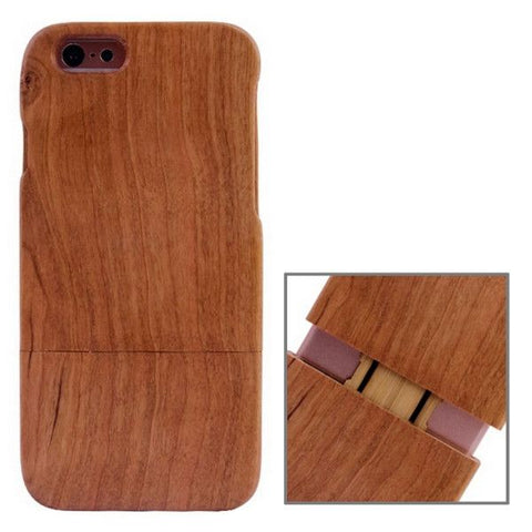 Walnut Material Wooden Case for iPhone 6 Plus & 6S Plus(Brown)