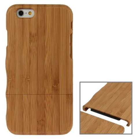 Lightweight Left Hand Grasp Design Separable Bamboo Wooden Case for iPhone 6 Plus & 6S Plus