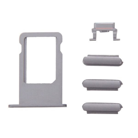 iPartsBuy Card Tray Replacement for iPhone 6s(Grey)