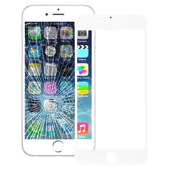 iPartsBuy Front Screen Cover Plate / Outer Glass Lens for iPhone 6s(White)