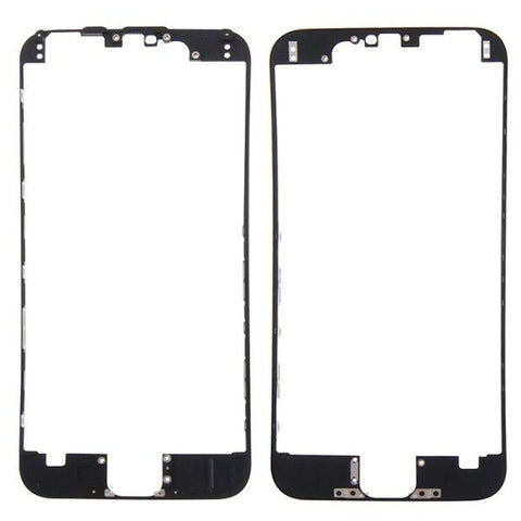 iPartsBuy Front Housing LCD Frame Replacement for iPhone 6S(Black)