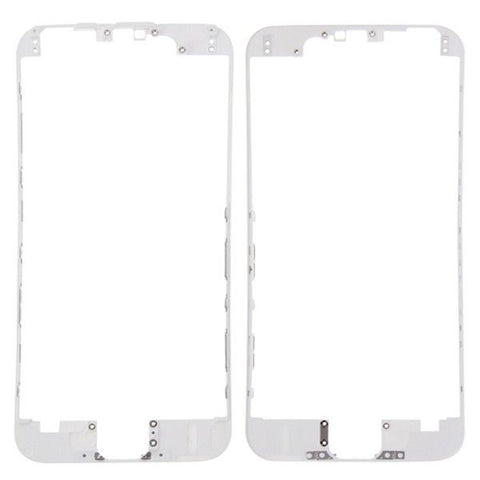 iPartsBuy Front Housing LCD Frame Replacement for iPhone 6S(White)