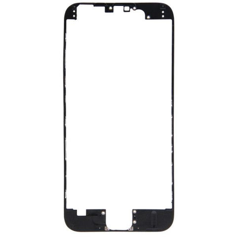 Front LCD Screen Bezel Frame for iPhone 6(Black)