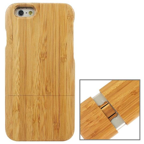 Detachable Bamboo Material Protective Case for iPhone 6 & 6S
