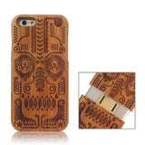 Tribal Totem Pattern Separable Wooden Case for iPhone 6 - Zasttra.com