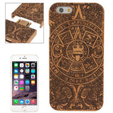 Online Buy Maya Pattern Separable Cherry Wood Paste Plastic Case for iPhone 6 & 6S | South Africa | Zasttra.com