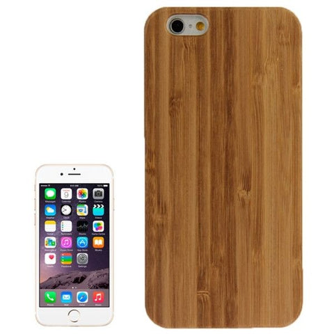 Bamboo Paste White PC Bottom Case for iPhone 6 & 6S