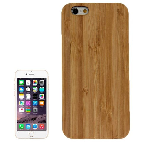 Bamboo Paste Black PC Bottom Case for iPhone 6 & 6S