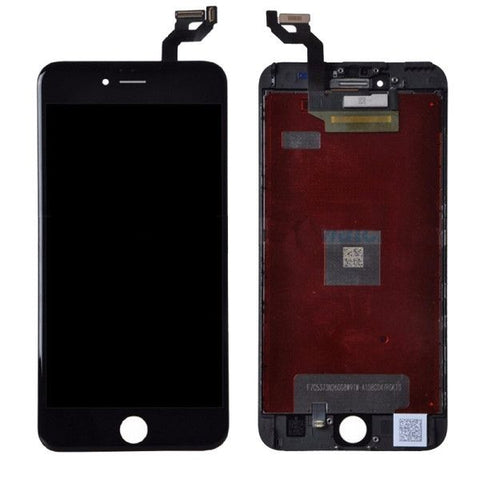 iPartsBuy LCD Display + Touch Screen Digitizer Assembly Replacement for iPhone 6S Plus(Black)